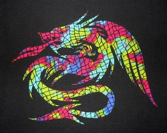 Easy Dragon 3 Quilt Applique Pattern Design