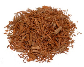 Red Sandalwood 4 oz. - wildcrafted, cut & sifted