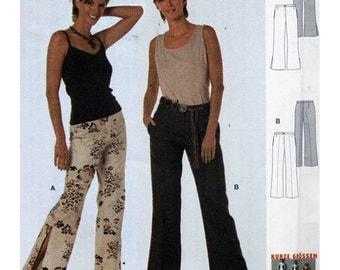 Burda Sewing Pattern 8524 Pants  Size:  6-18  Uncut