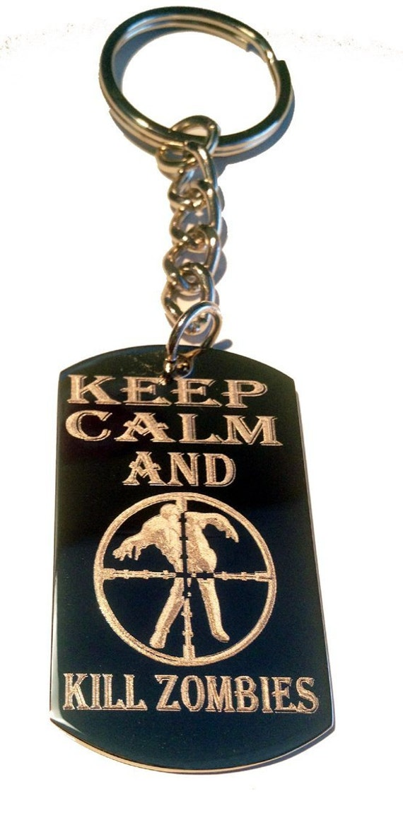 Keep Calm and Kill Zombies Target Zombie Outbreak Logo Symbols
