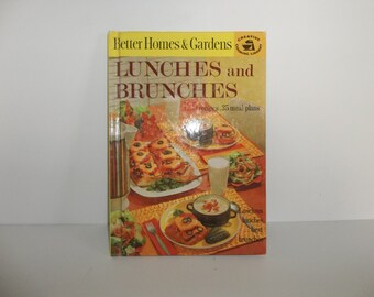 Vintage Better Homes and Gardens 'Lunches and Brunches' 1963