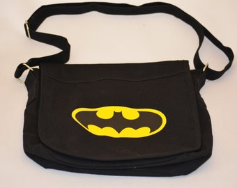 Batman messenger bag | Etsy