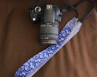 DSLR Camera Strap : LIBERTY Leilla (Purple)