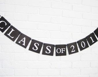 Class of 2017 banner, graduation party, graduation party banner, congratulations banner, class reunion sign, graduation party sign, congrats