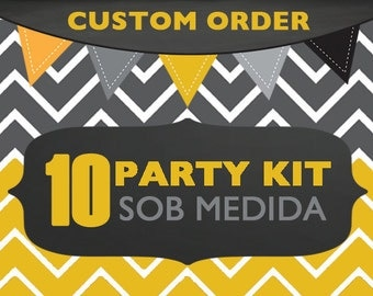 Custom Printable Party Collection (UP TO 10 ITEMS)