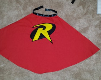 Robin Cape - Baby, children or adults - Red or Yellow theme
