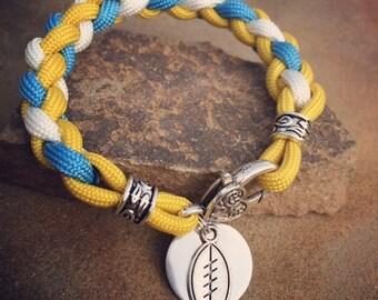 UCLA ladies paracord bracelet
