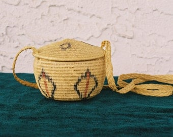 Venezuelan Warao Indigenous Woven Basket