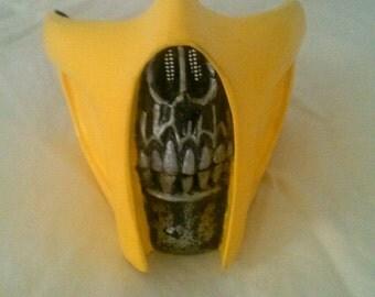 Mortal Kombat Scorpion Mask.