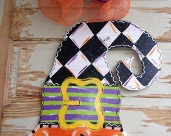Halloween Witch Hat Door Hanger