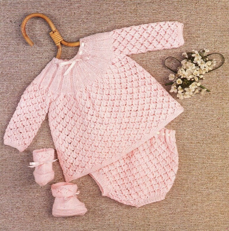 Knitting Pattern Angel Top : pdf Baby Knitting Pattern 1719 Angel Top