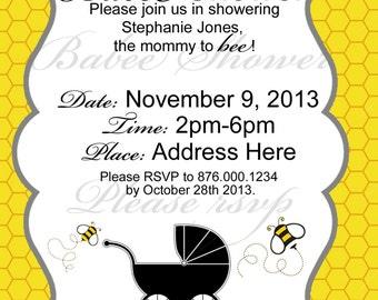 Babee Shower Invitation