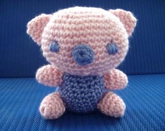 Crochet Pink Critter