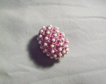 Small Beaded and Crocheted Easter Egg