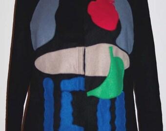 Wool and Felt Anatomy Jacket Medium-Large UK12-14