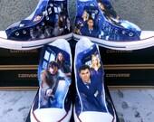 Doctor Who Custom Converse All Stars