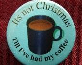 Christmas Humor 38mm button badge