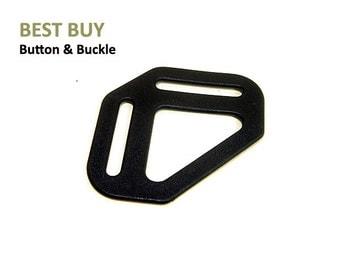 "10 pcs Plastic 3 Point Adjustable Buckles 1 1/4"", 1 1/2"" #PH409"