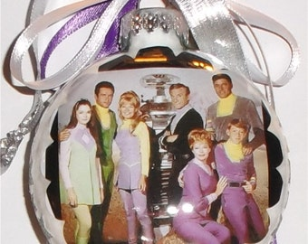 Lost In Space  inspired Tribute Christmas Ornament