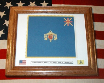Revolutionary War Flag, American Continental Army...2nd New Hampshire