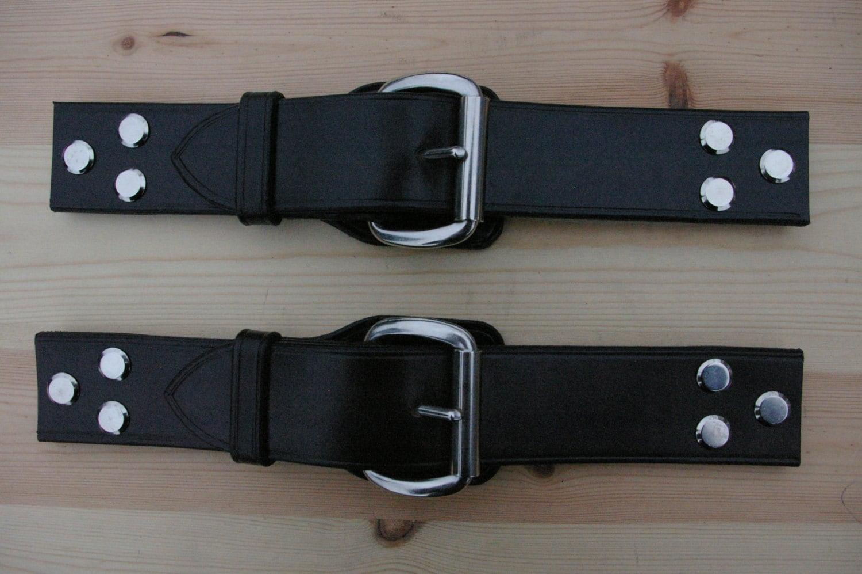 short leather bonnet straps for vintage classic cars. Black Bedroom Furniture Sets. Home Design Ideas