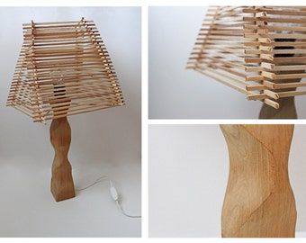 23 innovative wooden lamps handmade smakawy elegant hamslamps handmade handmadelamp wood woodart mozeypictures Images