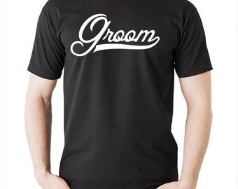 Groom T Shirt Gift For Groom Tshirt Shirt Tee Wedding T Shirt Bachelorette Party