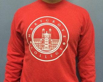 Vintage Marygrove College Crew Neck Sweatshirt