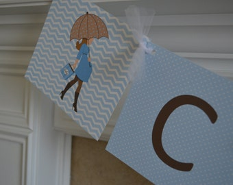 Boy Baby Shower Banner - Baby Bump - Congrats - Chevron Baby Shower Banner - It's A Boy Banner -  Party Packs Available