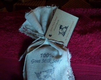 Goat Milk Soap Almond Biscotti