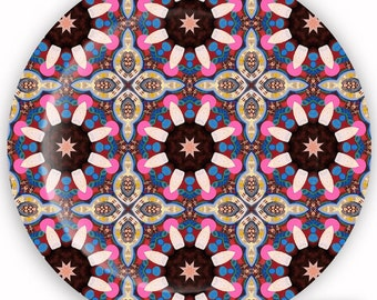 Plate, Melamine Plate, Decorative Plate, Dinnerware - Whimsical No. 7