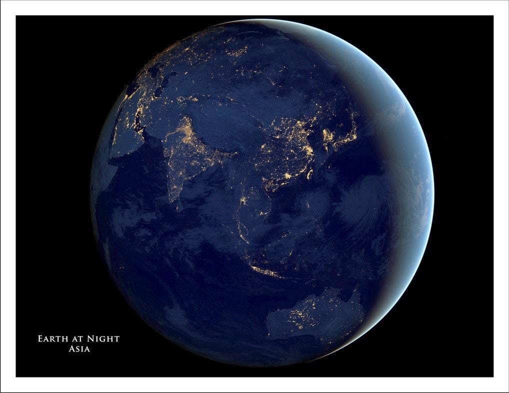 WORLD MAP Map Of The World Globe Asia Map Australia Map - World map satellite picture