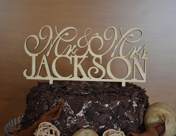 Natural Wood Wedding Cake Toppers And More By BRAWOX On Etsy