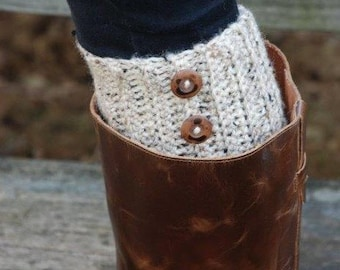 Women's Leg Warmers With Buttons, Women's Boot Socks, Boot Toppers, Boot Cuffs, Boot Socks, legwarmers, more colors available