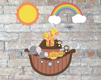 Noah's Ark Clip Art {Digital Download}