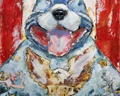 Pit Bull * Made in the USA * Print 8 x 10 mat