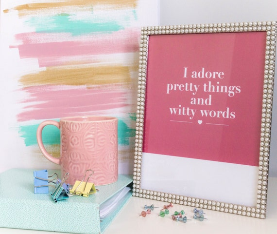 I Adore Pretty Things And Witty Words Kate Spade Kate Spade print