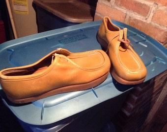 Vintage deadstock earth shoes sandles Anne kalso negitive  heel 1970's new women's 5 5.5 6 6.5 7 7.5 8 men's 12 12.5 or 13