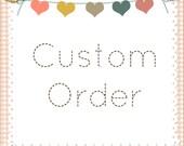 Emmarie Custom Order 24 cupcake toppers