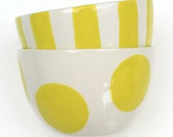 Little Bowl, dessert bowl, tapas bowl, high tea nuts crisps hand painted handmade personalized ceramic pottery ceramics