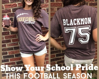 Football T-Shirt- Customize With Your Team's Name