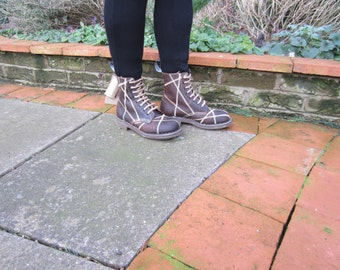 George Cox Patchwork Boots