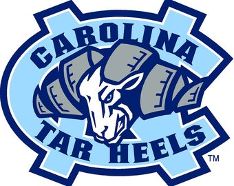 North Carolina Tarheels Decals