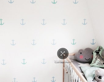 """4"""" Anchor Wall Decals - Set of 36"""