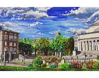 Columbia University, New York City Art Print