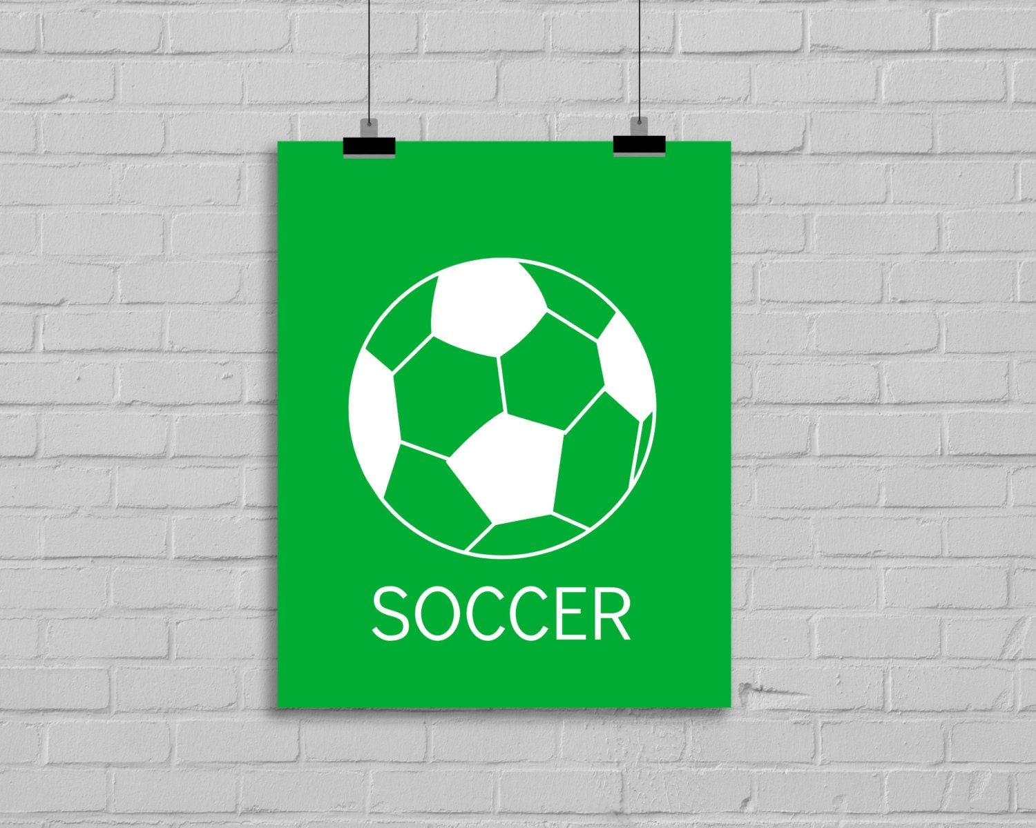 soccer wall art modern wall decor nursery by simplylovecreations. Black Bedroom Furniture Sets. Home Design Ideas
