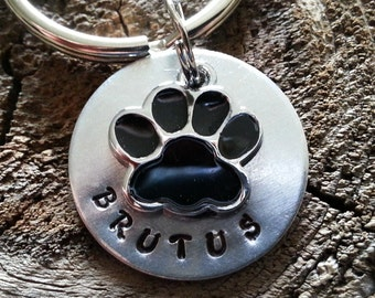 Personalized Pet ID Tag / Pet ID Tag / Dog Tag  / Pet Tag / Cat Tag / Custom Pet ID Tag - Accessories