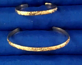 Mother Daughter Gold Filled Bracelet set