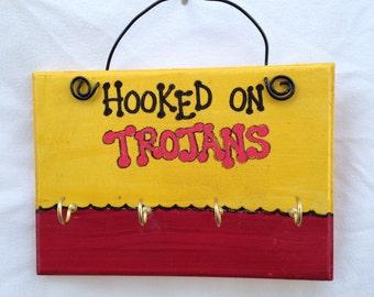 USC Trojans Key Rack