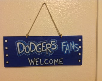 Los Angeles Dodgers Welcome Sign